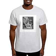 Last Supper Ash Grey T-Shirt