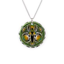 Goddess of the Green Moon Necklace