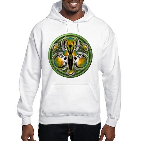 Goddess of the Green Moon Hooded Sweatshirt