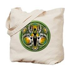Goddess of the Green Moon Tote Bag