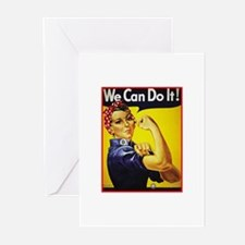 Rosie the Riveter Greeting Cards (Pk of 10)