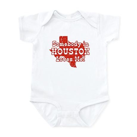 Somebody in Houston Loves Me! Infant Creeper