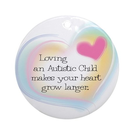 Growing Heart Ornament (Round)