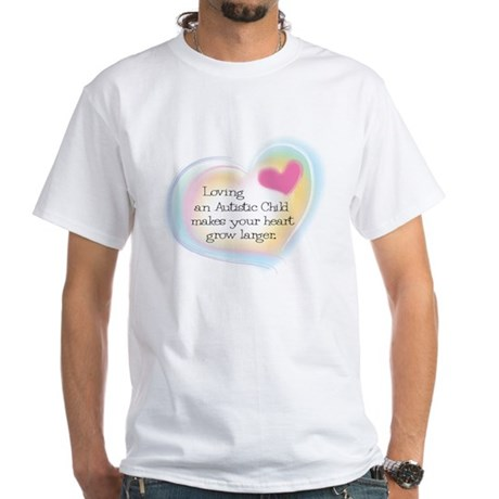 Growing Heart White T-Shirt