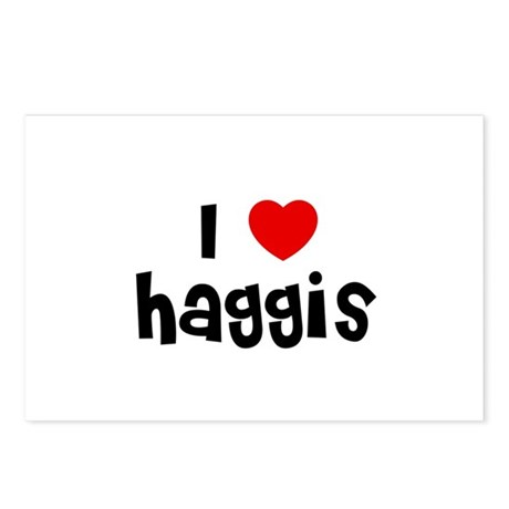 I * Haggis Postcards (Package of 8)