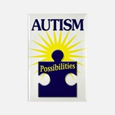Autism Possibilities Rectangle Magnet
