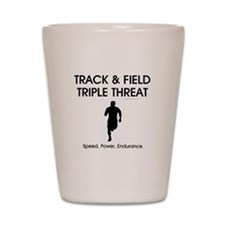 TOP Track and Field Shot Glass