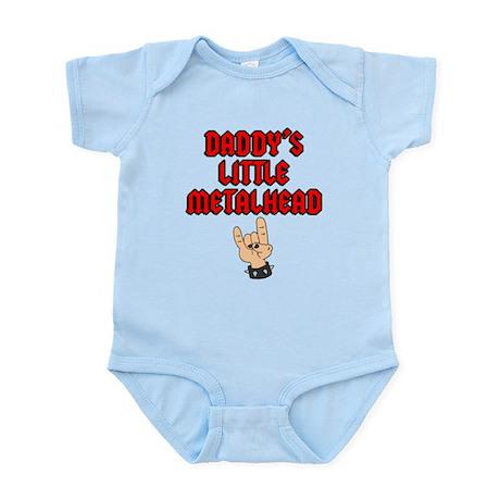 Daddy's Little Metalhead Infant Bodysuit