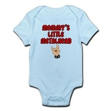 Mommy's Little Metalhead Infant Bodysuit