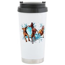 Hungarian Vizsla Travel Coffee Mug (Beau