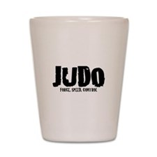 Judo: Force, Speed, Control Shot Glass