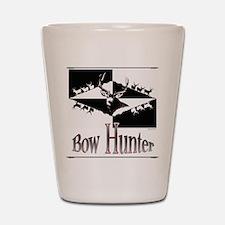Bow hunter Shot Glass