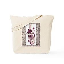 Edwardian Couple Tote Bag