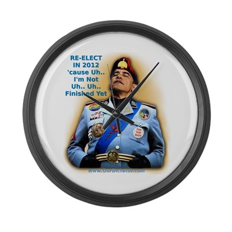 Our Dictator: Large Wall Clock