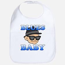 Blues Baby Shirt Bib