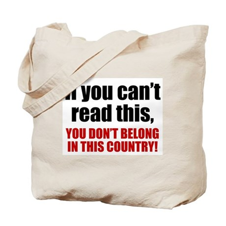 Can't Read This? Tote Bag