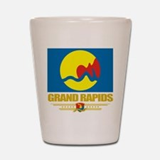 Grand Rapids Pride Shot Glass