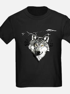 Grey Wolf Love T