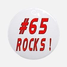 65 Rocks ! Ornament (Round)