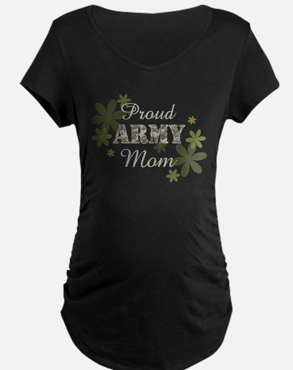 Proud Army Mom [fl] T-Shirt