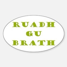Gaelic Redheads Forever Green Decal