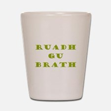 Gaelic Redheads Forever Green Shot Glass