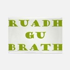 Gaelic Redheads Forever Green Rectangle Magnet