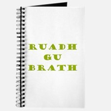 Gaelic Redheads Forever Green Journal