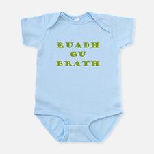 Gaelic Redheads Forever Green Infant Bodysuit