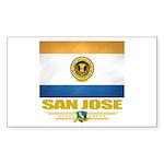 San Jose Pride Sticker (Rectangle 10 pk)