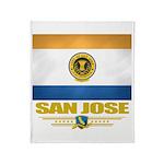 San Jose Pride Throw Blanket