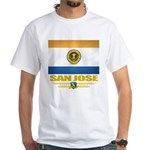 San Jose Pride White T-Shirt