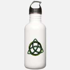 Triquetra Green Water Bottle