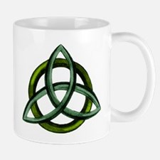 Triquetra Green Mug