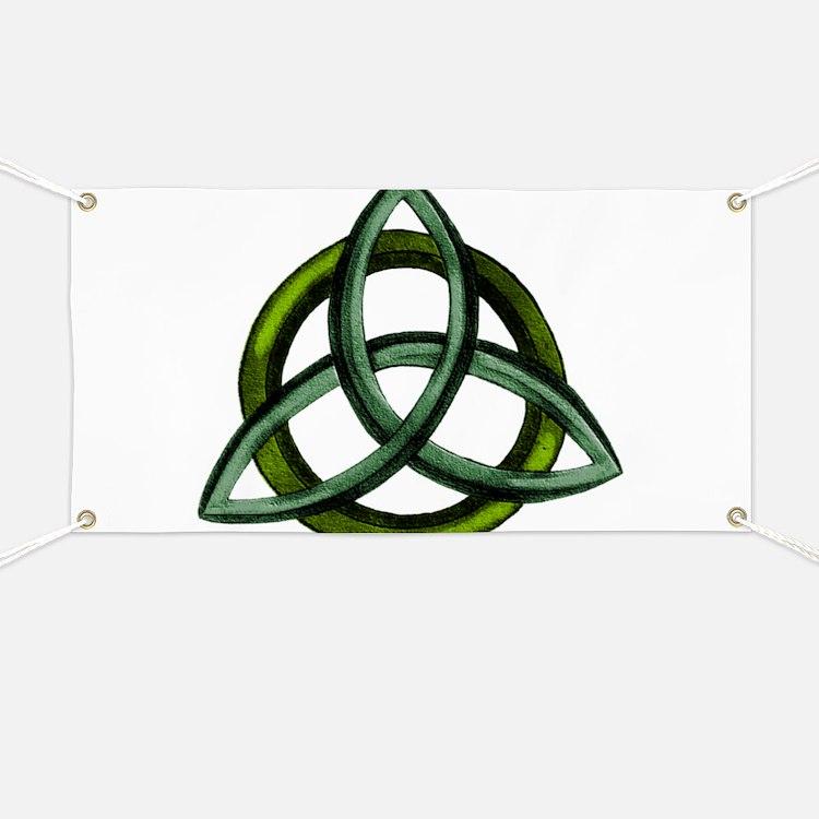 Triquetra Green Banner