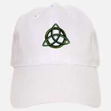 Triquetra Green Baseball Baseball Cap