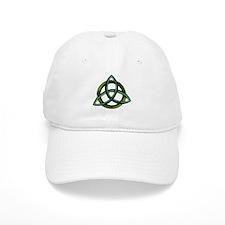 Triquetra Green Baseball Cap
