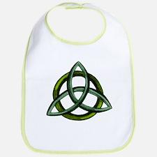 Triquetra Green Bib