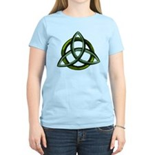 Triquetra Green T-Shirt
