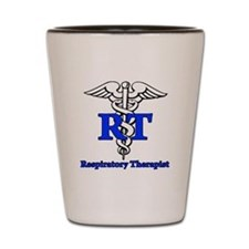 Respiratory Therapist Shot Glass