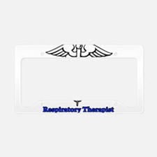 Respiratory Therapist License Plate Holder