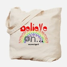 Believe On... Tote Bag