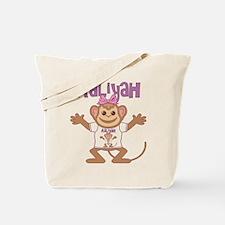Little Monkey Aaliyah Tote Bag