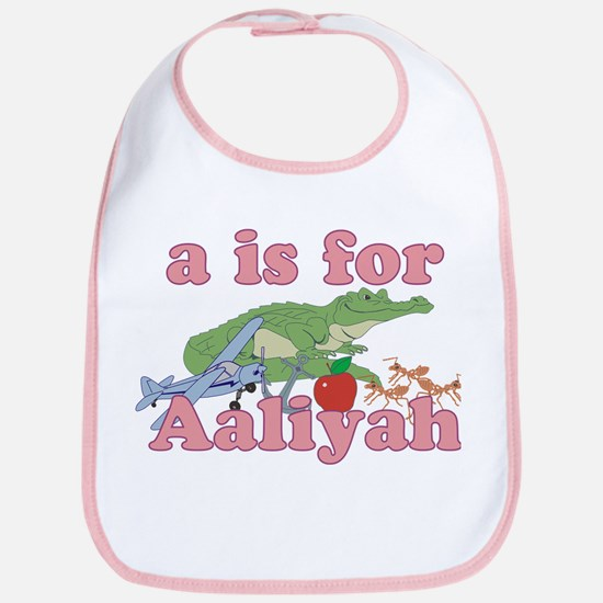 A is for Aaliyah Bib
