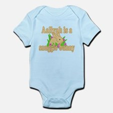 Aaliyah is a Snuggle Bunny Infant Bodysuit