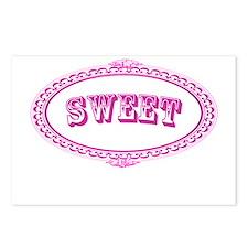 Sweet Postcards (Package of 8)