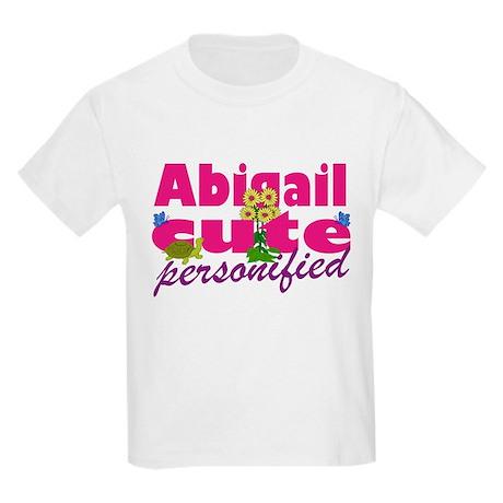 Cute Abigail Kids Light T-Shirt