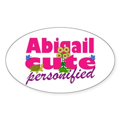 Cute Abigail Decal
