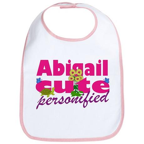 Cute Abigail Bib