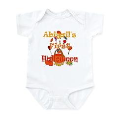 Abigail's First Halloween Infant Bodysuit